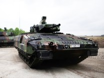 Bundeswehr Receives New Puma Light Tank