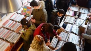 Schallplatten-Boom in Großbritannien
