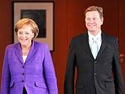 Angela Merkel Guido Westerwelle