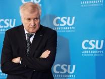 Auftakt Winterklausur der CSU-Landesgruppe