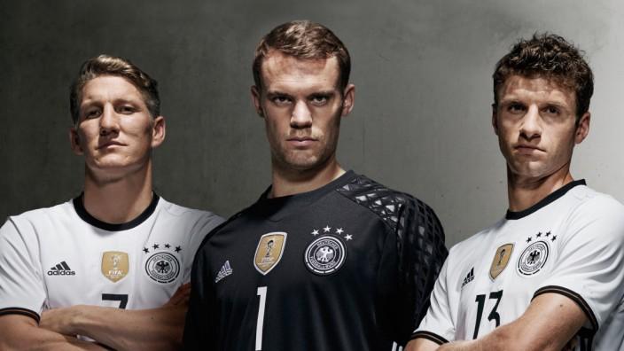 Neues Trikot deutsche Nationalmannschaft