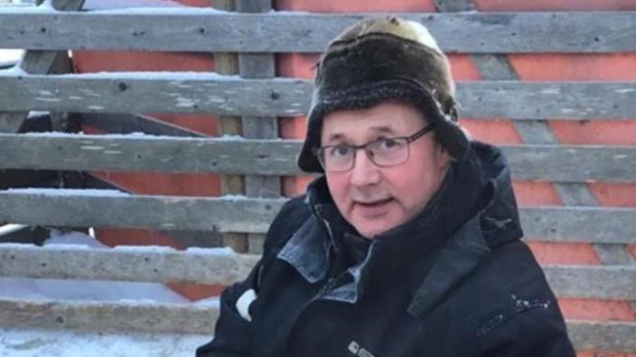 Rune Stokke, Rentierzüchter aus Jokkmokk