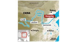 Am Gelben Fluss China