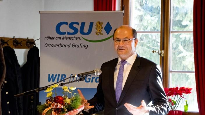 Albert Füracker - CSU Grafing Drei-Königs-Treffen