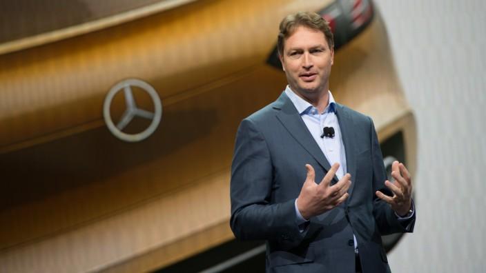 Ola Källenius, der neue Entwicklungsvorstand bei Mercedes