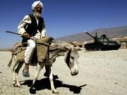 Urlaub auf der Achse des Bösen: Ein alter Mann in Afghanistan. Foto: AFP