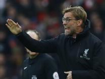 Liverpool manager Juergen Klopp