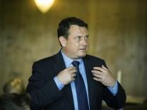 Neubiberg, Gastätte Minoa, FDP stellt ihren Bundestagskandidaten auf, Jimmy Schulz,