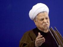 Irans Ex-Präsident Rafsandschani gestorben