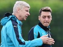 Arsenal  - Özil und Wenger