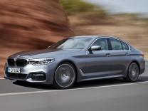 Der neue 5er BMW wird in Detroit vorgestellt