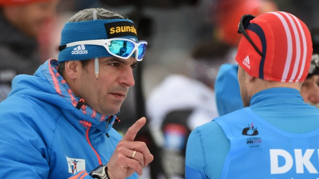Biathlon - Ricco Groß und Jewgeni Granitschew