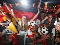 Germany Fans Watch 2016 UEFA European Championship