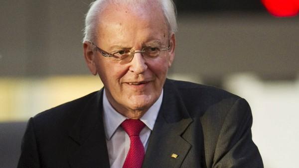 Der ehemalige Bundespräsident Roman HERZOG auf der Zuschauertribüne Wahl des Bundespräsidenten du