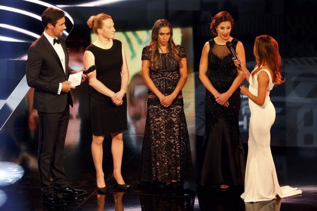 Football Soccer - FIFA Awards Ceremony - Women's Player Award