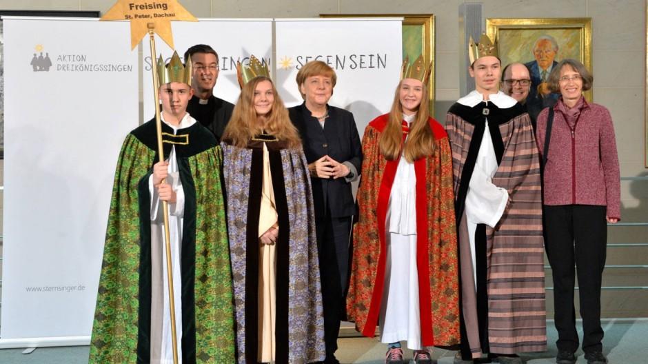 Sternsinger-Empfang von Bundeskanzlerin Angela Merkel