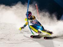 Slalom der Damen in Flachau