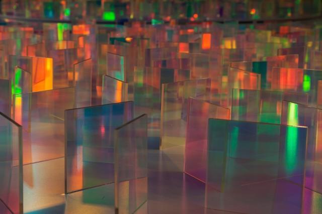 """galerie drächslhaus Bernd Sannwald """"Was wahr"""": Labyrinth"""