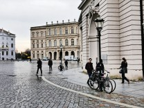 Potsdam Alter Markt mit Museum Barberini mit Sammlung Hasso Plattner Potsdam