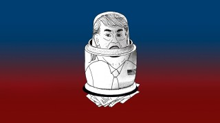 Donald Trump Seite Drei über Trump und Russland