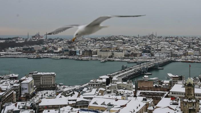 Winterwetter in der Türkei