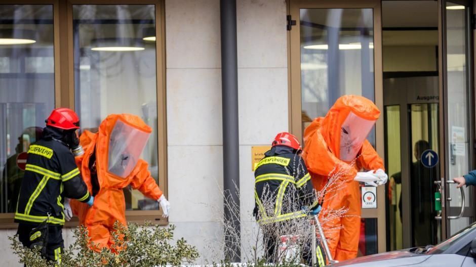 Einsätze in mehreren Justizgebäuden Deutschlands
