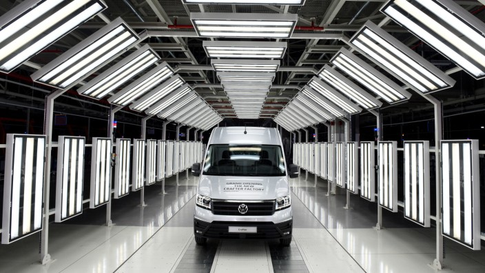 Volkswagen AG - Werkseröffnung Crafter-Fabrik in Wrzesnia
