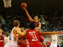 Nick Johnson FC Bayern trifft Basketball EuroCup FC Bayern Basketball Khimki Moskau 11 0