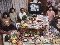Hungry Planet, Japan, Buch: 'So isst der Mensch'