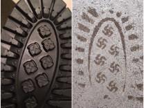 Hakenkreuz-Schuhe