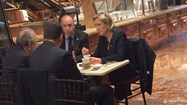 Marine Le Pen Wahl in Frankreich