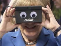 Germany Obama; Merkel Digital