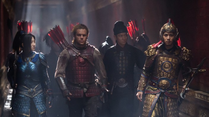 """Abenteuer-Film ´The Great Wall"""""""