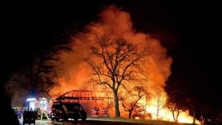 Feuer Großeinsatz der Feuerwehr