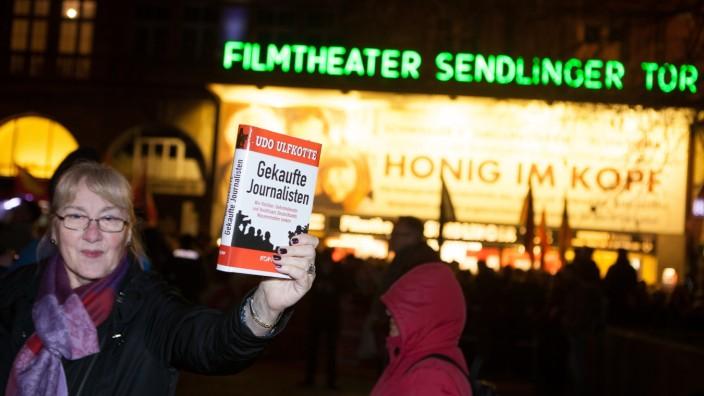 Muegida-Demonstration in München, 2015