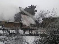 Absturz eines Fracht-Jumbos in Kirgistan