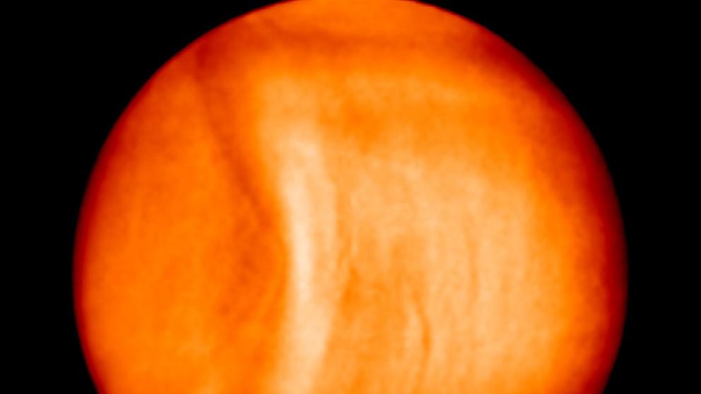Rätselhafte Struktur auf der Venus
