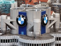The headquarters of German luxury carmaker BMW in Munich