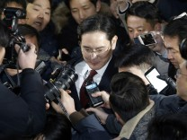 Korruptionsverdacht gegen Samsung-Manager Lee Jae-Yong