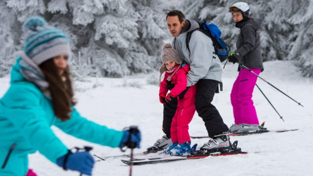 Wintersport auf dem Erbeskopf