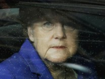 German Chancellor Angela Merkel arrives on the second day of the EU Summit in Brussels, Belgium.