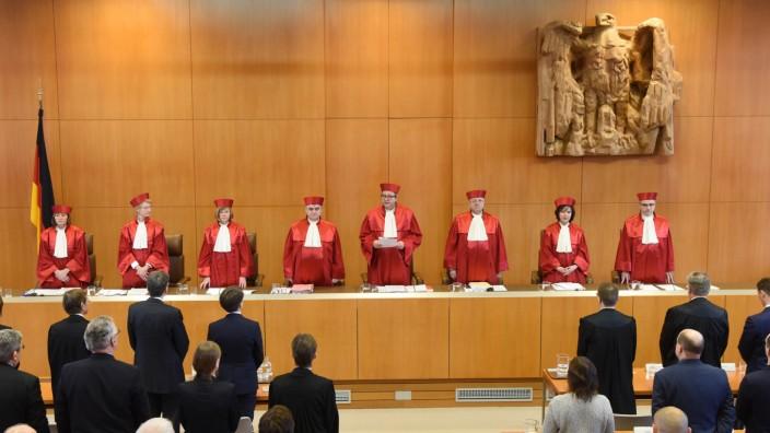 Bundesverfassungsgericht verkündet Urteil im NPD-Verbotsverfahre