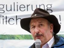 Demonstration gegen Agrarpolitik