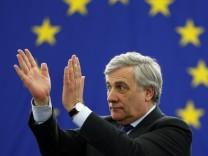 Antonio Tajani - Wahl des Präsidenten des Europäischen Parlaments