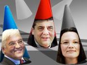 Die Hütchenspieler der SPD. Grafik: sde