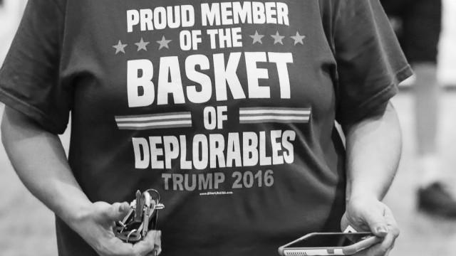 Republican presidential candidate Donald Trump campaigns in Green