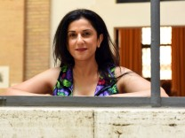 Dorit Rabinyan Fotoshooting in Rom Rome 13 07 2016 Literature International Festival in Rome in the