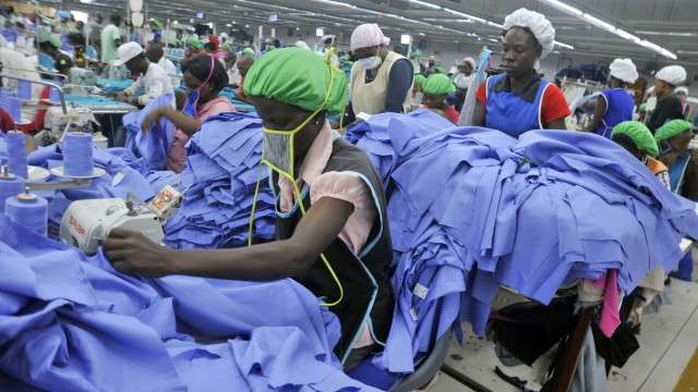 Apparel Manufacture For International Export In Kenyan Export Processing Zone