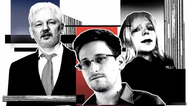 Julian Assange Whistleblower