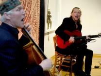 Herrsching: alte Schule Konzert Volker und Heckert
